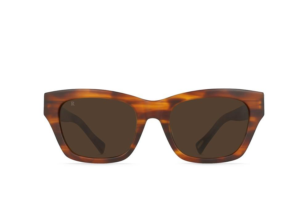 Bower Sunglasses in Matte Rootbeer/Brown