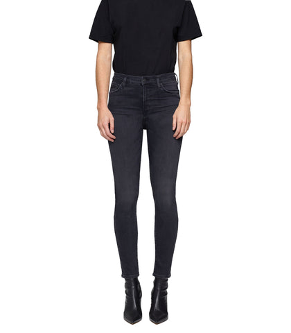 Rocket Ankle Mid Rise Skinny in Reflection