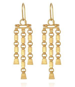 Sharni Earrings Gold