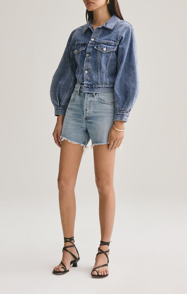 Reese Relaxed Cut Off Short in Wonder