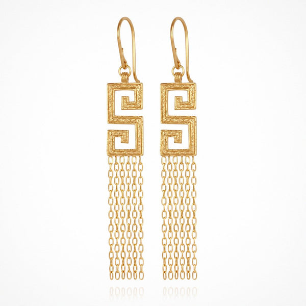 Delphi Earrings in Gold