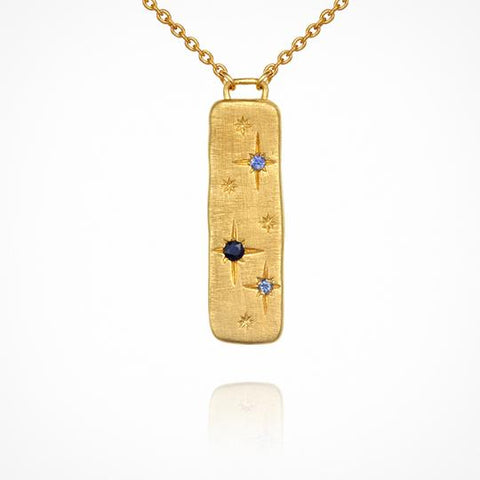 Elektra Necklace in Gold