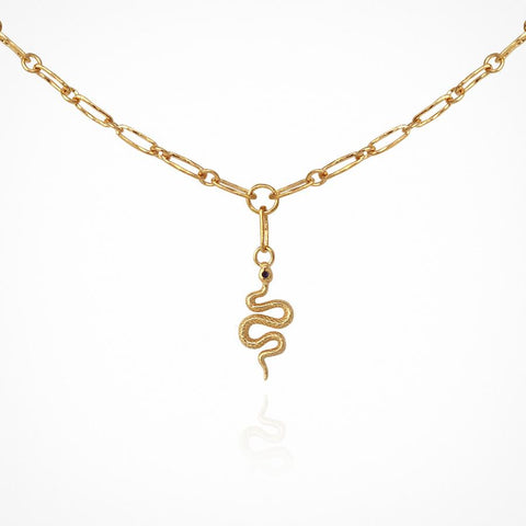 Evie Necklace in Gold