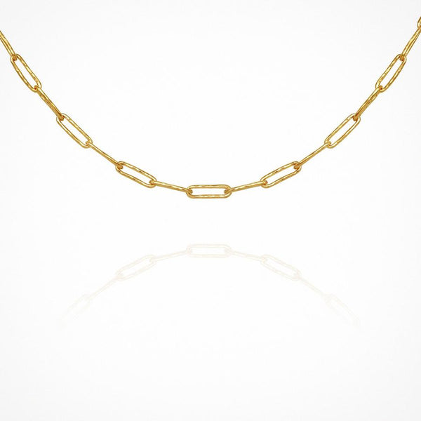 Kiya Chain Necklace in Gold