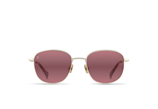 Morrow Sunglasses in Satin Japanese Gold + Tortoise / Mirrored Sherry