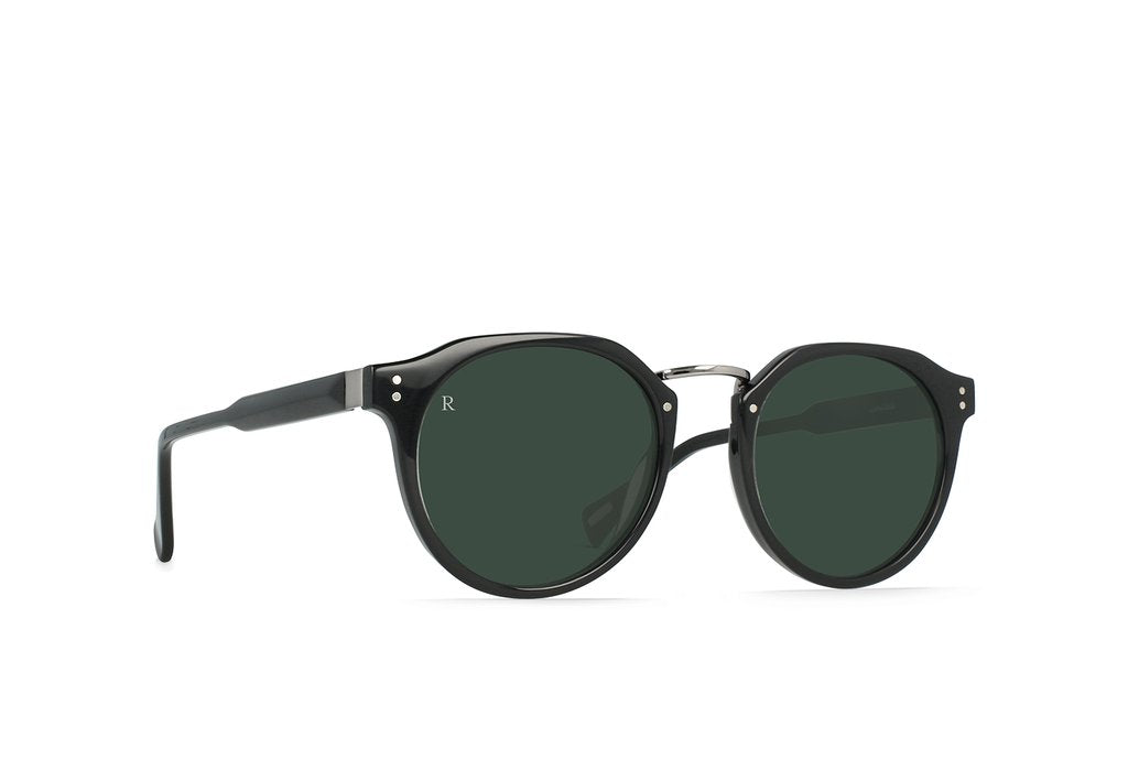 Remmy Alchemy Sunglasses in Crystal Black/Dark Smoke