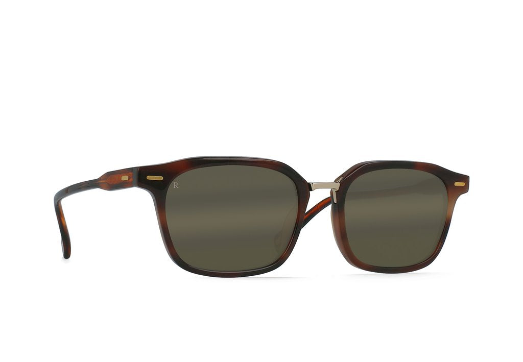 Bastien Sunglasses in Americano/HiPro Bronze Mirror