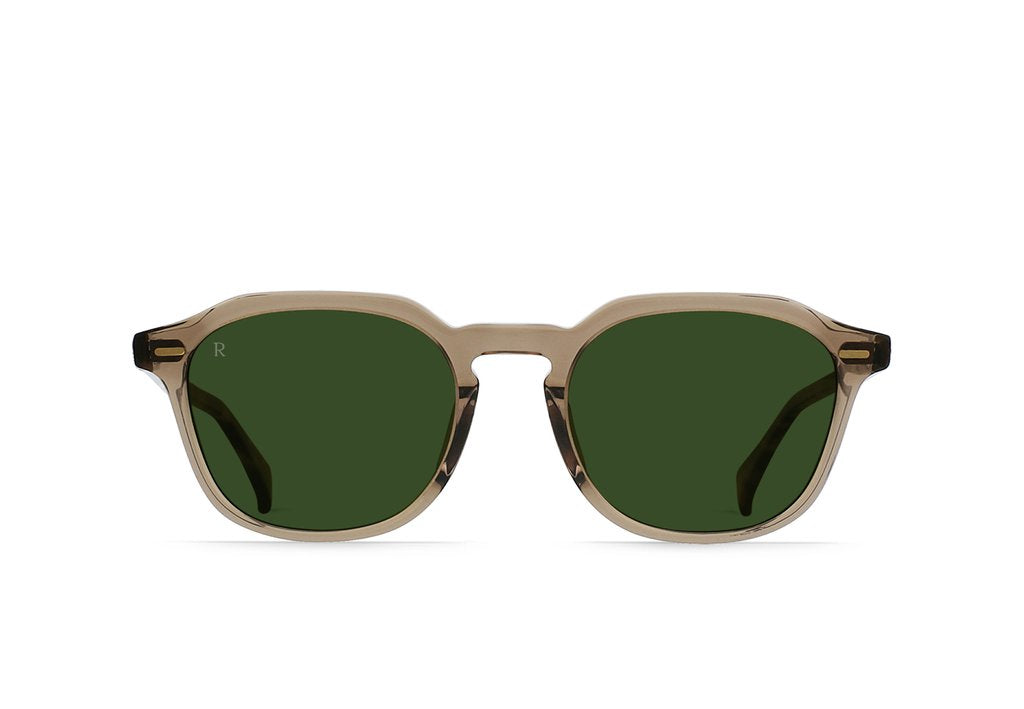 Clyve Sunglasses in Nopal/Bottle Green