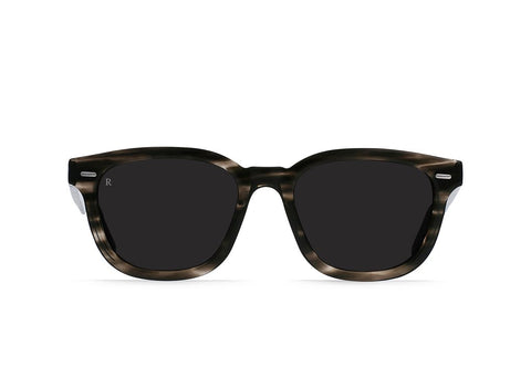 Myles Sunglasses in Static/Dark Smoke