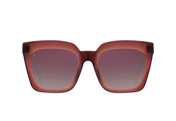 Vine Sunglasses in Chestnut/Agave Mirror