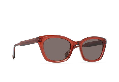 Clemente Sunglasses in Brandy/Plum Brown