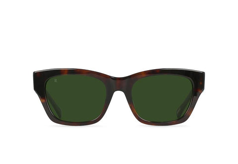Bower Sunglasses in Kola Tortoise/Bottle Green