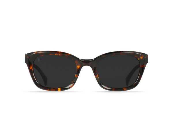 Clemente Sunglasses in Safari Tortoise/Dark Smoke