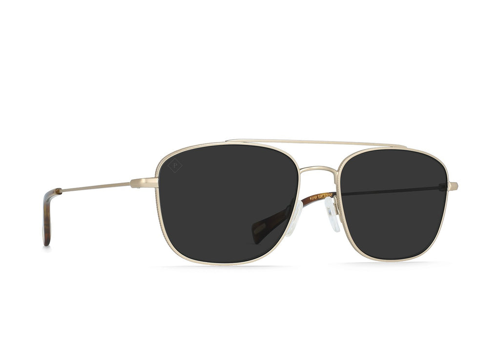 Barolo Sunglasses in Gold/Kola Tortoise/Smoke Polar