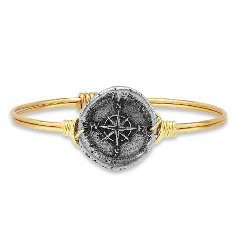 Luca + Danni | Compass Bangle Bracelet
