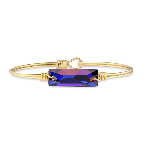 Luca + Danni | Hudson Bangle Bracelet In Volcano