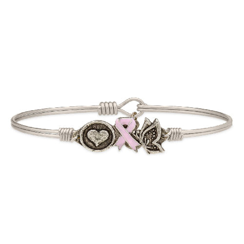 Luca + Danni | Love, Hope and Life Bangle Bracelet