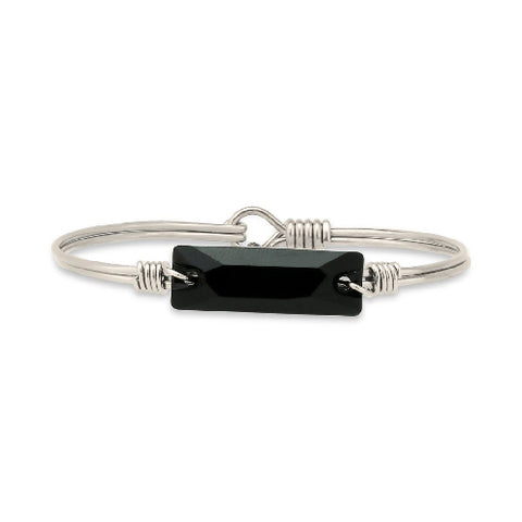 Luca + Danni | Hudson Bangle Bracelet In Jet