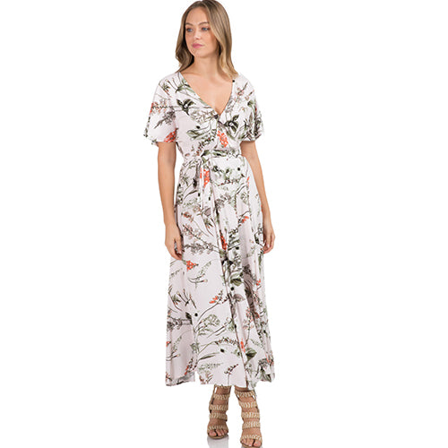 Elan | Botanical Maxi Dress