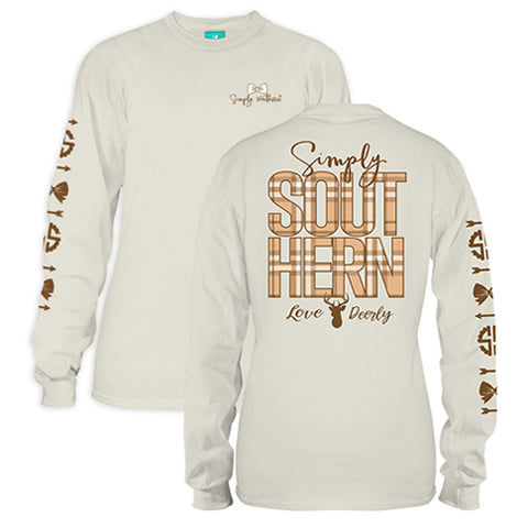 Simply Southern | Preppy Deer Logo Beige - Youth Collection