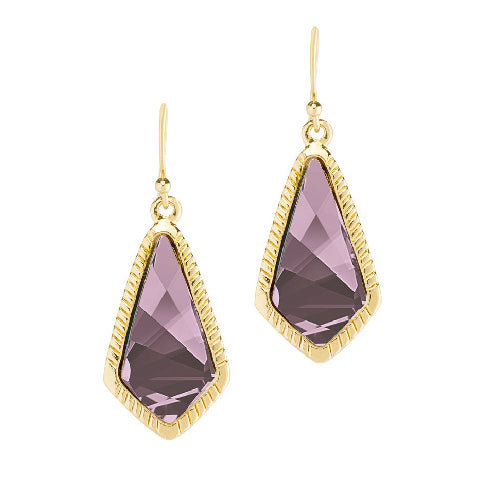 Luca + Danni | Sloane Statement Earrings In Antique Pink