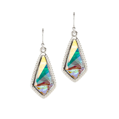 Luca + Danni | Sloane Statement Earrings In Crystal AB