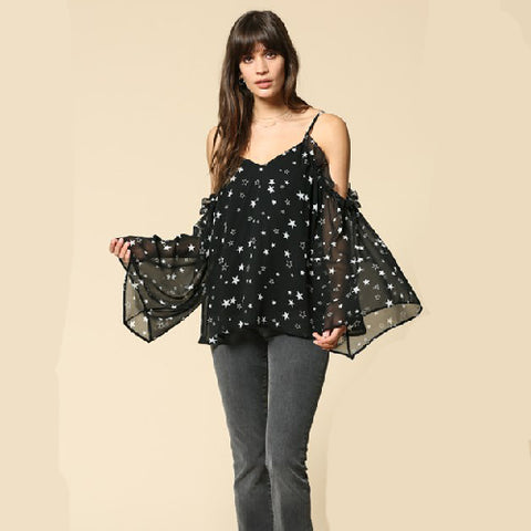 By Together | Star Print Shirt