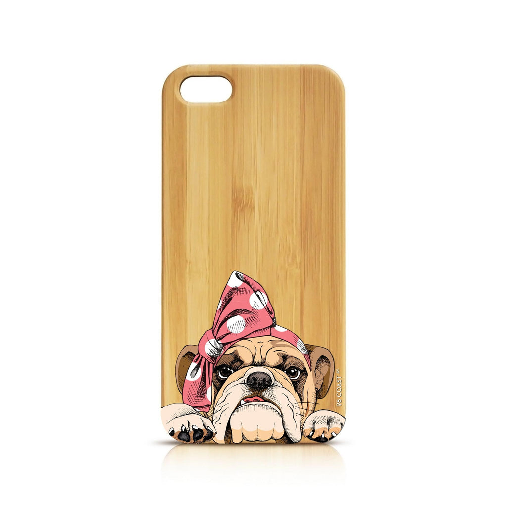 FUNDA BAMBÚ CUTE BULLDOG
