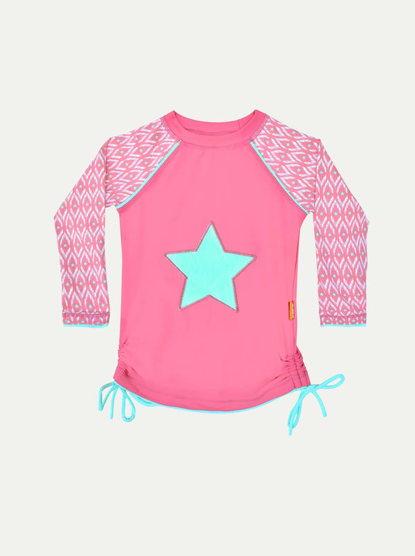 Camiseta UV Pink Star