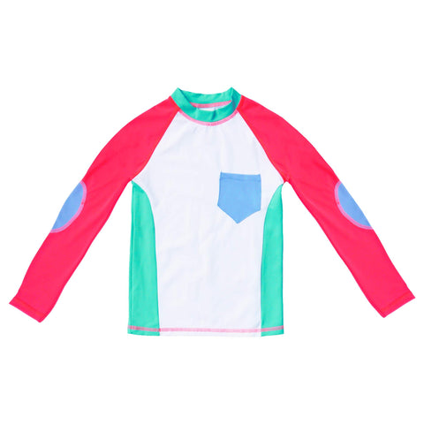 CAMISETA UV WHITE & PINK