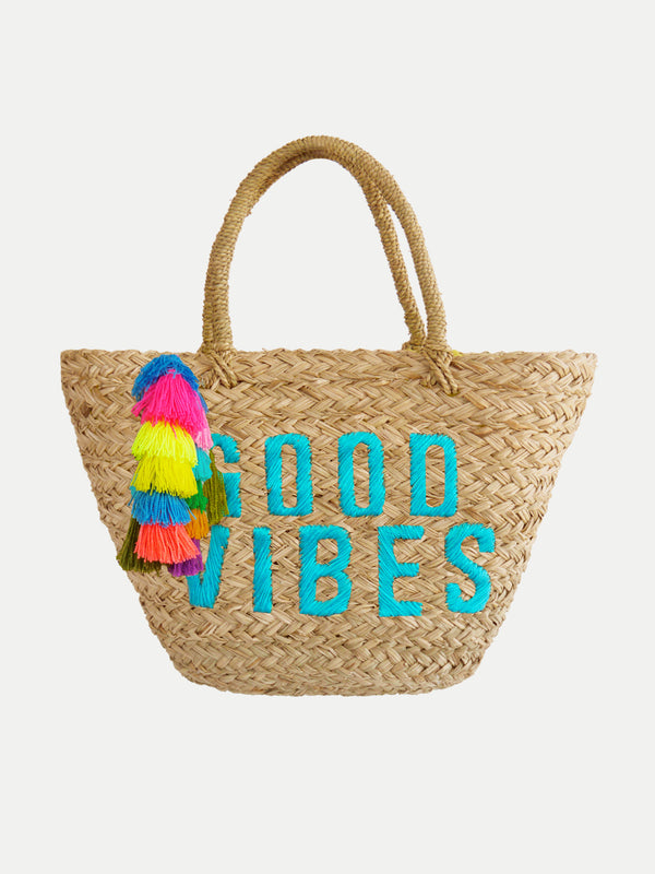 Bolso De Playa Good Vibes