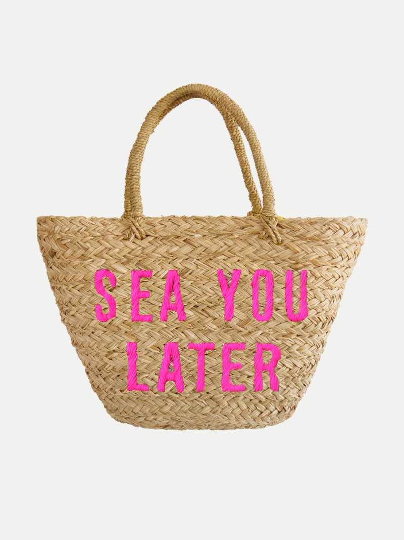 Bolso De Playa Sea You Later