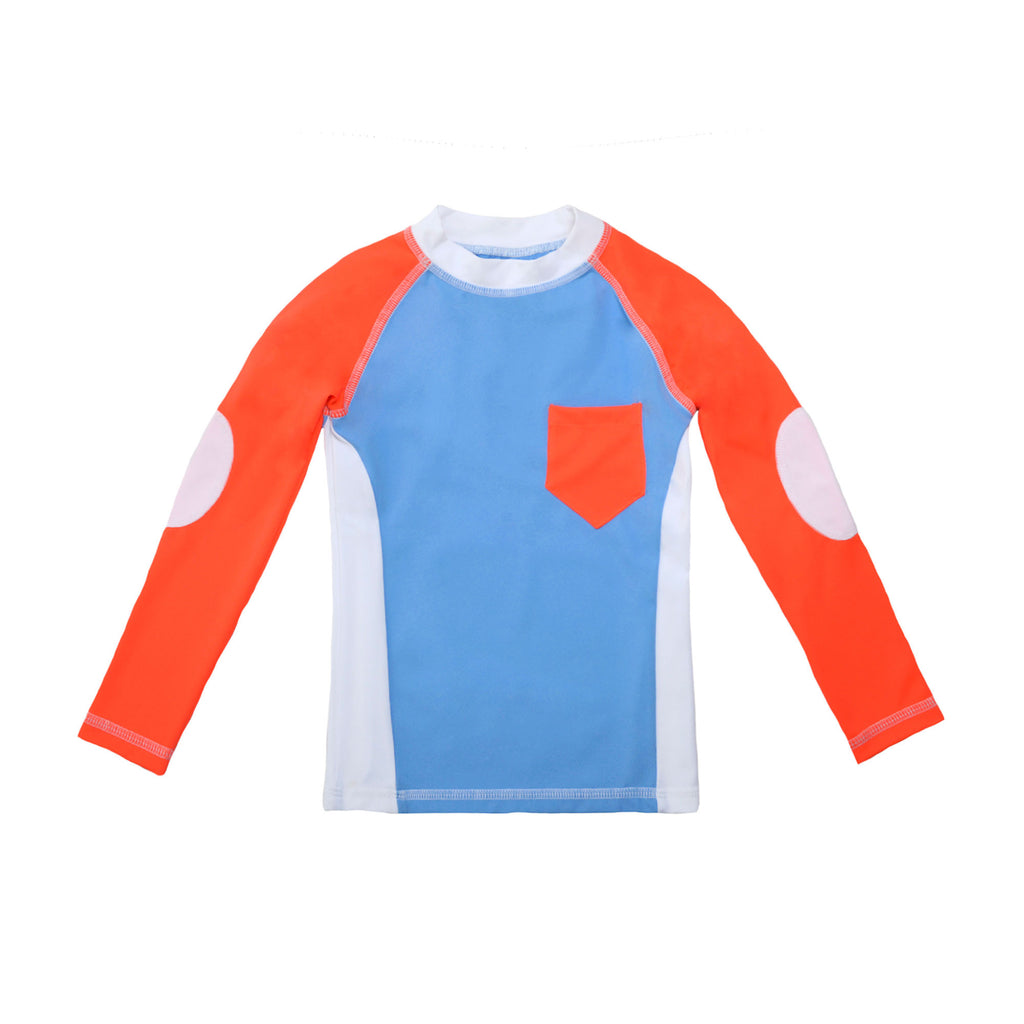 CAMISETA UV BLUE & ORANGE