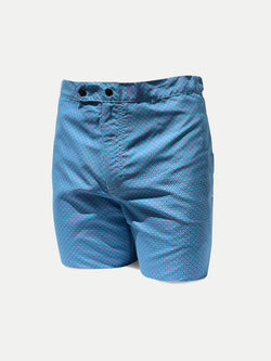 Slim Fit Estampado Aqua