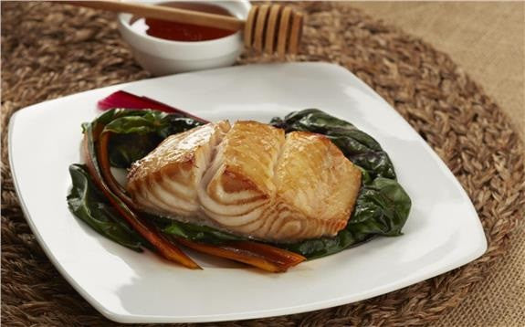 Black Cod Marinated with Honey