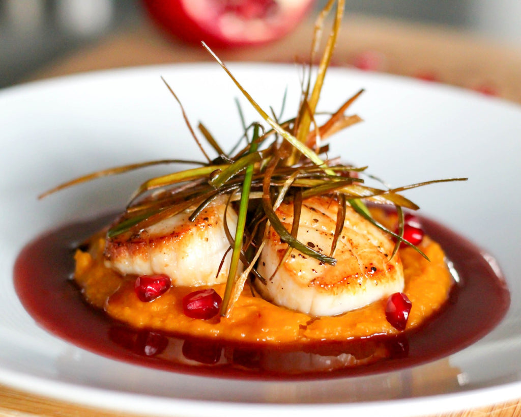 Savory, Fall Scallop recipe from Coley Cooks
