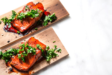 Hibiscus Salmon by Wildwood Grilling