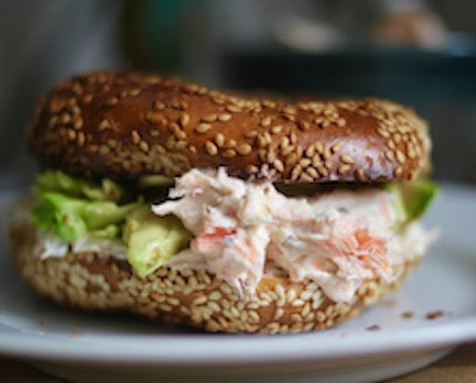 Smoked Salmon Spread with Pickled Onions