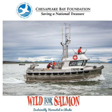 Wild for Salmon donates to the Chesapeake Bay Foundation!