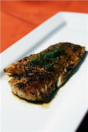 Blackened Pacific Cod