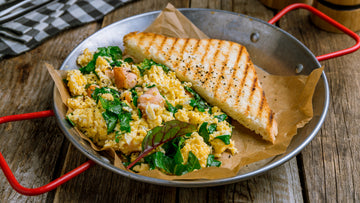 Egg-cellent Salmon Skillet
