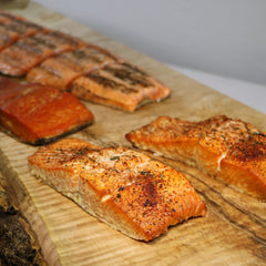 Wild for Salmon Feast by Firelight Box