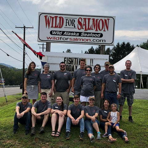 Wild for Salmon Staff Fishtival 2018