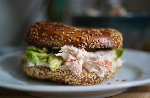 Wild for Salmon Kosher Salmon Bagel