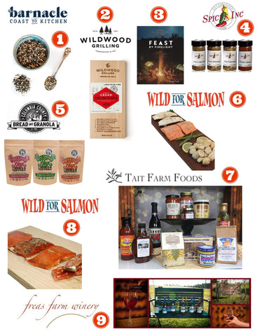 Wild for Salmon Holiday Gift Guide  2018