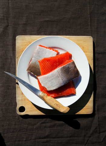 Wild for Salmon sockeye portions wild caught kosher