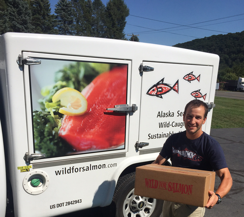 Wild For Salmon Buying Club Truck