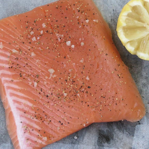 Wild Caught Pink Salmon Portions