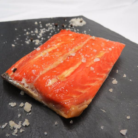 Traditional Smoked King Salmon