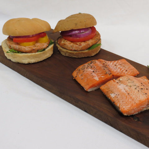 Alaska Sockeye Salmon Burgers & Portions Box - Wild For Salmon